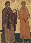 Όσιος Ιωάννης ο Καλυβίτης και Όσιος Παύλος ο Θηβαίος