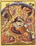 Η γέννηση του Χριστού - Ιερό Κοινόβιον Ευαγγελισμού της Θεοτόκου Ορμύλια Χαλκιδικής