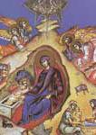 Η γέννηση του Χριστού - Έργο του Π. Βαμπούλη