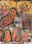 Η γέννηση του Χριστού - Εγκαυστική εικόνα από τη Μονή Αγίας Αικατερίνης Σινά 7ος αι. μ.Χ.