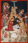 Η γέννηση του Χριστού - Λυδία Γουριώτη© (http://lydiagourioti-iconography.blogspot.com)