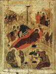 Αντρέι Ρουμπλιόβ - Η γέννηση του Χριστού, 1405 μ.Χ.