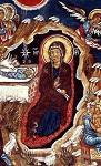Η γέννηση του Χριστού - Τοιχογραφία στην εκκλησία της Παναγίας της Ασίνου, στο χωριό Νικητάρι. 14ος αιώνας μ.Χ.