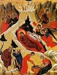 Η γέννηση του Χριστού - Φορητή εικόνα στην εκκλησία του Αγίου Νικολάου, στο χωριό Κλωνάρι. 16ος αιώνας μ.Χ.