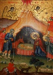 Η γέννηση του Χριστού - Ιερός Ναός Αγίου Γεωργίου Κορυτσάς