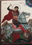 Άγιος Γεώργιος - Λυδία Γουριώτη© (lydiagourioti-iconography.blogspot.com)