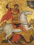 Άγιος Γεώργιος - άγνωστος ζωγράφος του Χάνδακα, τέλη 15ου αιώνα μ.Χ.