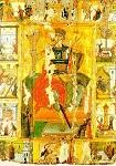 Άγιος Γεώργιος  με σκηνές από τη ζωή του - τελευταίο τέταρτο 16ου αι. μ.Χ. - Mονή Aγίου Παύλου, Άγιον Όρος