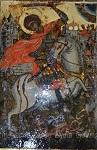 Άγιος Γεώργιος - Συντήρηση εικόνας: Λυδία Γουριώτη© (http://lydiagourioti-iconography.blogspot.com)