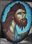 Άγιος Ιωάννης ο Πρόδρομος και Βαπτιστής - Λυδία Γουριώτη© (lydiagourioti-iconography.blogspot.com)