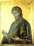 Άγιος Ιωάννης ο Πρόδρομος και Βαπτιστής - 1542 μ.Χ. - Πρωτάτο, Άγιον Όρος - Kρητική σχολή