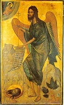 Άγιος Ιωάννης ο Πρόδρομος και Βαπτιστής - 16ος και 18ος αι. μ.Χ. (επιζωγραφίσεις) - Πρωτάτο, Άγιον Όρος