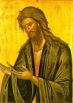 Άγιος Ιωάννης ο Πρόδρομος και Βαπτιστής - 1542 μ.Χ. (Kρητική σχολή. Eυφρόσυνος) - Mονή Διονυσίου, Άγιον Όρος