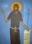 Άγιος Ιωάννης ο Πρόδρομος και Βαπτιστής - Ι. Ν. Οσίων Παρθενίου και Ευμενίου των εν Κουδουμά, δια χειρός Παναγιώτη Μόσχου (2006 μ.Χ.)