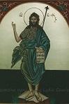 Άγιος Ιωάννης ο Πρόδρομος και Βαπτιστής - Λυδία Γουριώτη© (http://lydiagourioti-iconography.blogspot.com)