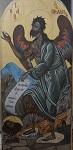 Συντήρηση εικόνας Αγίου Ιωάννη Προδρόμου (Πριν - μετά) Λυδία Γουριώτη© (http://lydiagourioti-iconography.blogspot.com)
