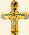 Σταυρός τέμπλου - 1546 μ.Χ. - Mονή Σταυρονικήτα, Άγιον Όρος (Κρητική σχολή, Θεοφάνης ο Kρής)