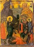 Η έγερση του Λαζάρου - 15ος - 16ος αι. μ.Χ. - Πρωτάτο, Άγιον Όρος