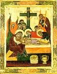 Επιτάφιος - 1616 μ.Χ. - Mονή Aγίου Παύλου, Άγιον Όρος