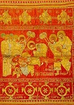 Επιτάφιος - 1613/14 μ.Χ., Mονή Δοχειαρίου, Άγιον Όρος