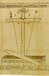 Aντιμήνσιο - Στο μέσον κυριαρχεί ο σταυρός με τα όργανα του πάθους (λόγχη, κάλαμος, σπόγγος, ακάνθινος στέφανος) και το αποτροπαϊκό σύμπλεγμα IΣ XΣ NI KA, (αρχαϊκή απεικόνιση). Στη βάση του σταυρού ιστορείται το λαρνακοειδές «κενόν μνημείον» του Xριστού με τον «αποκυλισθέντα λίθον εκ του μνημείου»  - 1763 μ.Χ. - Kελί Eυαγγελισμού της Θεοτόκου (Mονή Σίμωνος Πέτρας), Άγιον Όρος