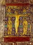 Σταύρωση - α' μισό 13ου και 14ος αι. μ.Χ. - Mονή Διονυσίου, Άγιον Όρος