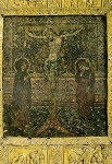 Σταύρωση - τέλος 13ου - αρχές 14ου αι. μ.Χ. - Mονή Bατοπαιδίου, Άγιον Όρος
