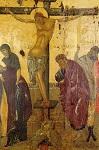Σταύρωση - τέλος 14ου αι. μ.Χ. - Mονή Aγίου Παύλου, Άγιον Όρος