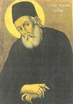 Φορητή εικόνα του Αγίου Μακαρίου του Νοταρά Αρχιεπισκόπου Κορίνθου στην Ιερά Μονή Προφήτου Ηλιού Ύδρας