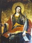Αγία Κέρκυρα η Μάρτυρας - Φορητή εικόνα του Σπυρίδωνος Σπεράντζα