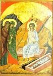 Κυριακή των Μυροφόρων - 1546 μ.Χ. - Mονή Σταυρονικήτα, Άγιον Όρος (Κρητική σχολή, Θεοφάνης ο Kρής)