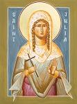 Αγία Ιουλία - Julia Hayes© (www.ikonographics.net)