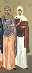 Αγίες Τεκούσα, Αλεξανδρία, Κλαυδία, Φαεινή, Ευφρασία, Ματρώνα, Ιουλία και Θεοδότη οι Παρθενομάρτυρες από την Άγκυρα της Γαλατίας και Θεόδοτος ο Μάρτυρας