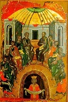 Κυριακή της Πεντηκοστής - 1546 μ.Χ. - Mονή Σταυρονικήτα, Άγιον Όρος (Κρητική σχολή, Θεοφάνης ο Kρής)