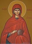Αγία Ιωάννα η Μυροφόρος - Λυδία Γουριώτη© (http://lydiagourioti-iconography.blogspot.com)