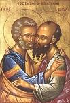 Ασπασμός Πέτρου και Παύλου
