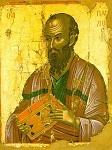 Απόστολος Παύλος - 1546 μ.Χ. - Mονή Σταυρονικήτα, Άγιον Όρος (Κρητική σχολή, Θεοφάνης ο Kρής)