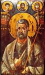 Ο Άγιος Πέτρος, εγκαυστική εικόνα του 6ου αι. από τη Μονή της Αγ. Αικατερίνης, Όρος Σινά
