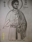 Άγιος Μιχαήλ Πακνανάς ο κηπουρός - Χείρ Θεοδώρου Τσουμελέκα