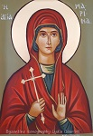 Αγία Μαρίνα - Λυδία Γουριώτη© (http://lydiagourioti-iconography.blogspot.com)