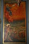 Η εικόνα του Προφήτου Ηλιού στο τέμπλο της Ι.Μ. Ηλιού στα Ιεροσόλυμα