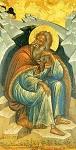 Προφήτης Ηλίας ο Θεσβίτης - δεύτερο μισό 16ου αι. μ.Χ. - Mονή Σταυρονικήτα, Άγιον Όρος (Κρητική Σχολή, Mιχαήλ Δαμασκηνός)