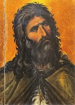 Προφήτης Ηλίας ο Θεσβίτης - Ιερά Μονή Σινά -13ος αι. μ.Χ.