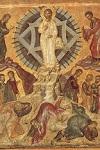 Μεταμόρφωση του Σωτήρος Χριστού - ανάμεσα στα 1535-1545 μ.Χ. (Kρητική σχολή, αποδίδεται στον Θεοφάνη) - Mονή Παντοκράτορος, Άγιον Όρος