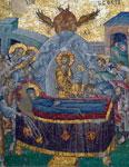 Κοίμηση της Θεοτόκου - Ψηφιδωτό από τη Μονή της Χώρας στην Κωνσταντινούπολη