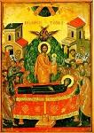Κοίμηση της Θεοτόκου - 1546 μ.Χ. - Mονή Σταυρονικήτα, Άγιον Όρος (Κρητική σχολή, Θεοφάνης ο Kρής)