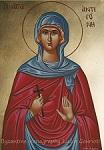 Αγία Αντιγόνη - Λυδία Γουριώτη© (http://lydiagourioti-iconography.blogspot.com)