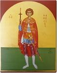 Άγιος Φανούριος ο Νεοφανής, ο Μεγαλομάρτυρας - Γεωργία Δαμικούκα© (www.tempera.gr)