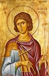 Άγιος Φανούριος ο Νεοφανής, ο Μεγαλομάρτυρας - Κωνσταντίνος Τσιρακίδης© (diaxeiroskt.blogspot.com)