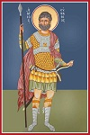Άγιος Ευστάθιος - Καζακίδου Μαρία© (byzantineartkazakidou. blogspot.com)